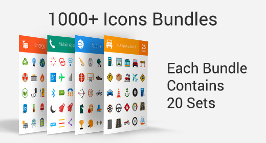 1000+ Icons Bundle