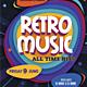 Retro Music / Retro Party Flyer