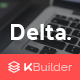 Delta - Responsive Email Template + Builder 2.0