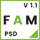 FAM - A Template For Creative Agency