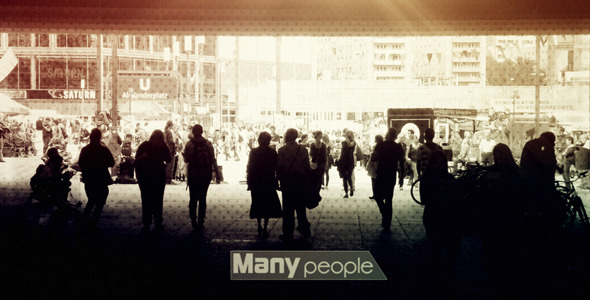 After Effects Project - VideoHive People 715984
