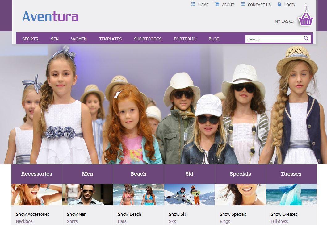 Aventura HTML Theme