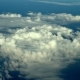 Big Meteo Cyclone Formation Aerial View