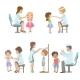 Kids on Medical Examination