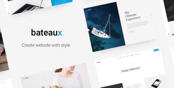 Download Bateaux - Creative Multi-Purpose WordPress Theme