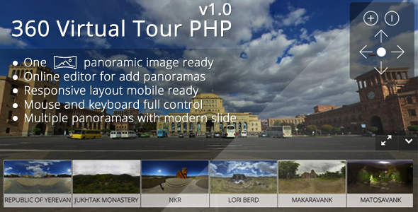 Download 360 Virtual Tour PHP nulled download