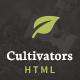 Cultivators - HTML Gardening Design