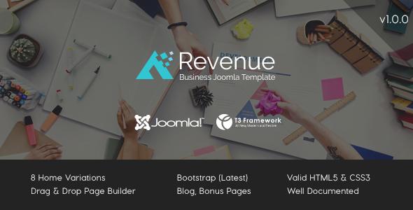 Revenue - Business Joomla Template