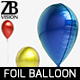 Waterdrop Foil Balloon