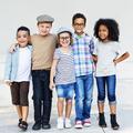 Child Friends Elementary Age Variation Offspring Concept