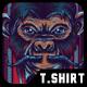 Royal Monkey T-Shirt Design