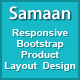 Samaan - Responsive Bootstrap Product Layout Design