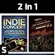 2 in 1 Indie Concert Flyer