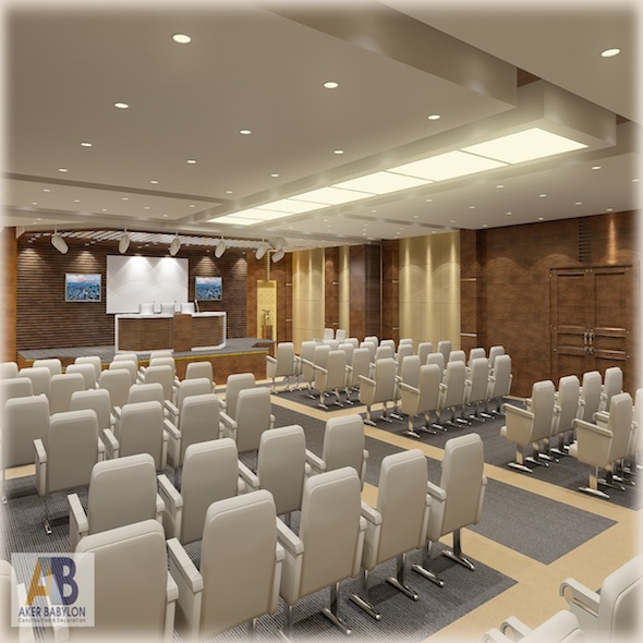 Conference Hall - 3DOcean Item for Sale