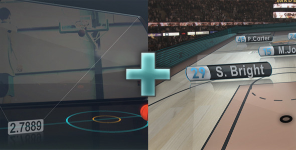 After Effects Project - VideoHive Basketball Promo & On-air-graphics 165843 ...