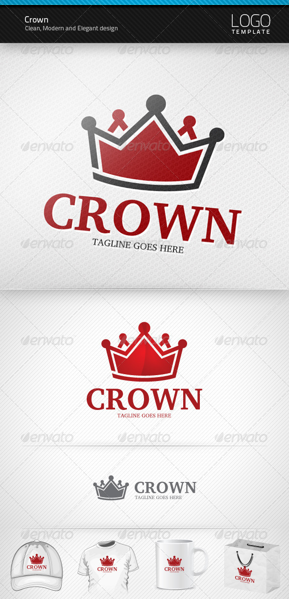 Crown Logo - Symbols Logo Templates