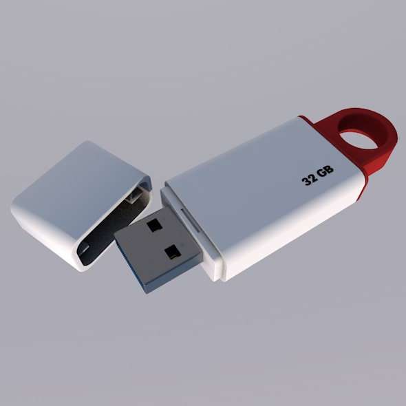 USB 32 GB Memory - 3DOcean Item for Sale