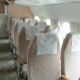 Plane With Clean And Comfortable Seats In Beige