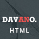 Davano - Multipurpose Corporate HTML Template