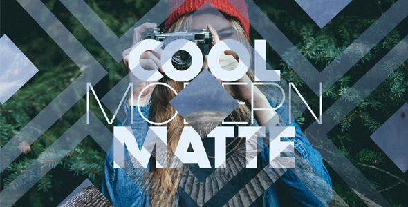 13 Cool Modern Matte Pack - Abstract Transitions Motion Graphics
