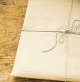 gift packing in kraft