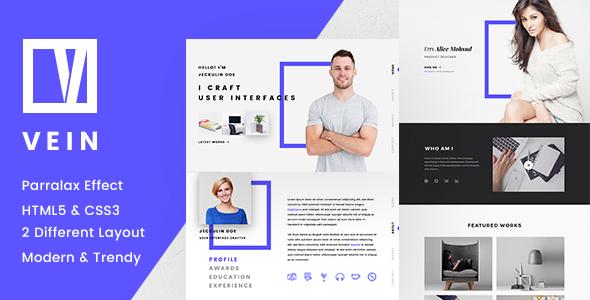Vein Parallax CV/Resume