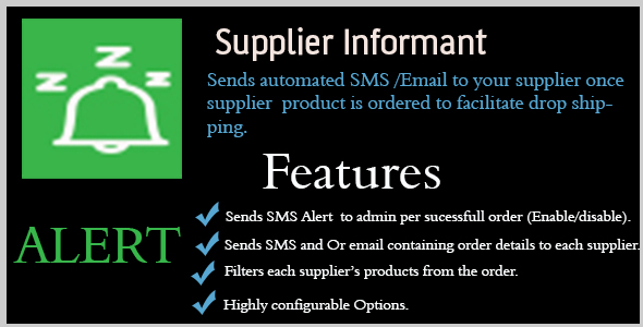 Supplier Informant