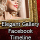 Elegant Gallery Facebook Timeline - GraphicRiver Item for Sale