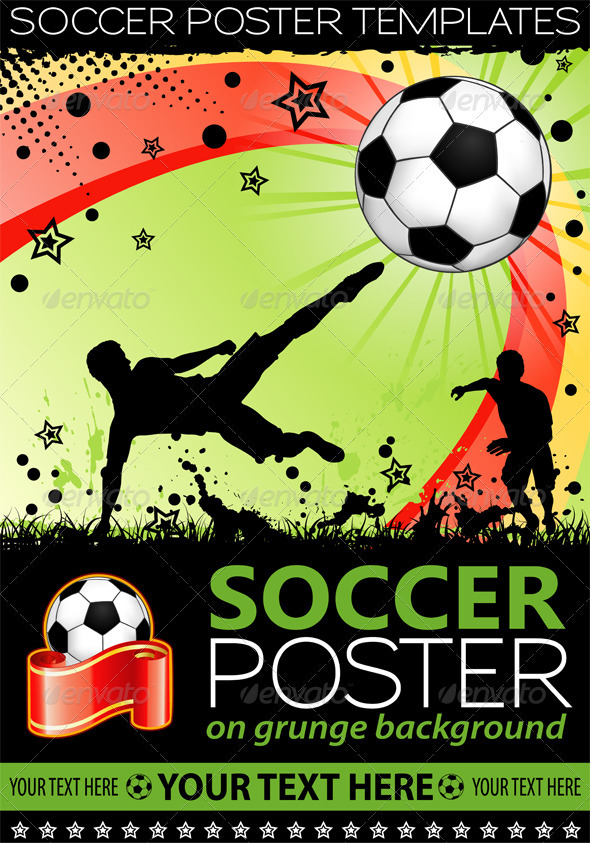 GraphicRiver Soccer Poster 1677435
