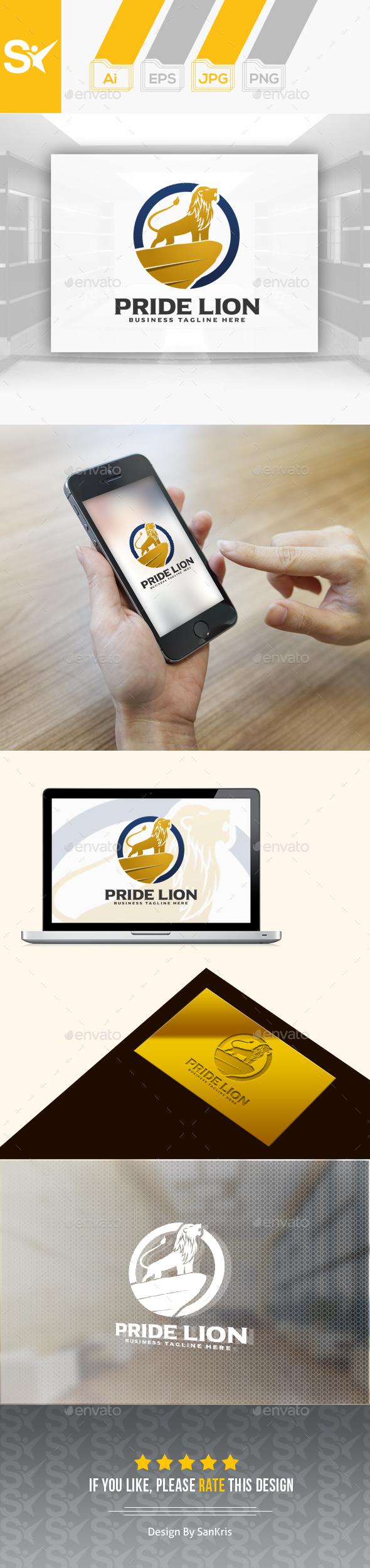 Pride Lion Logo