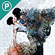 Painting Scatter Photoshop Action