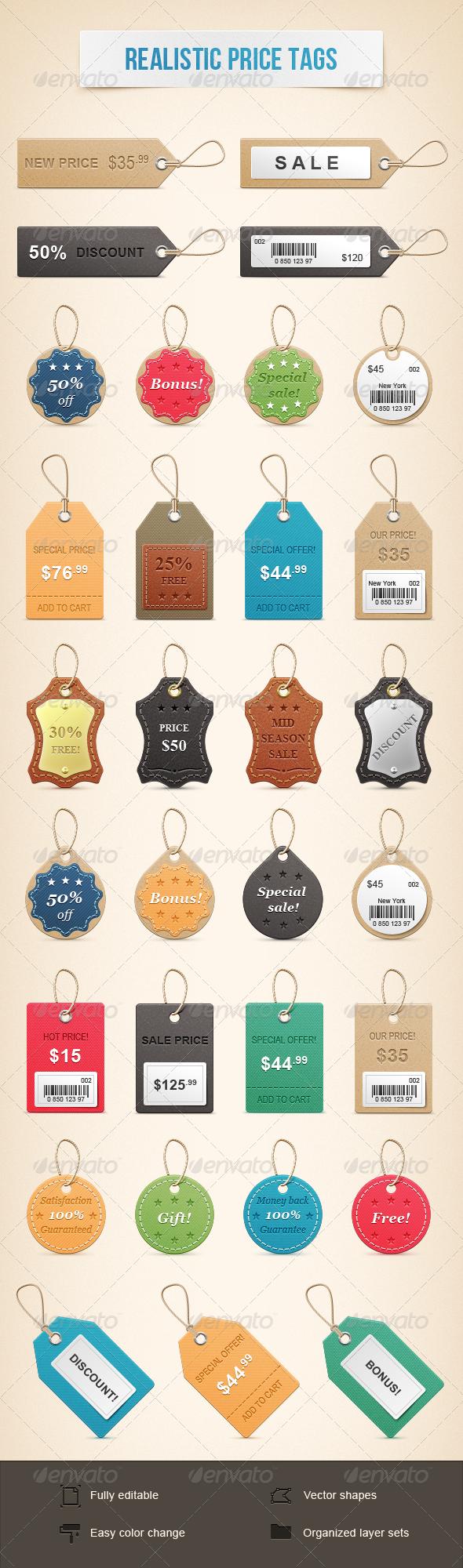 GraphicRiver Realistic Price Tags 1647201