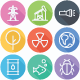 Ecology - Nature, Science Flat Icons - Line Icons