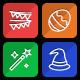 Celebration, Holidays, Festival Flat Icons - Line Icons
