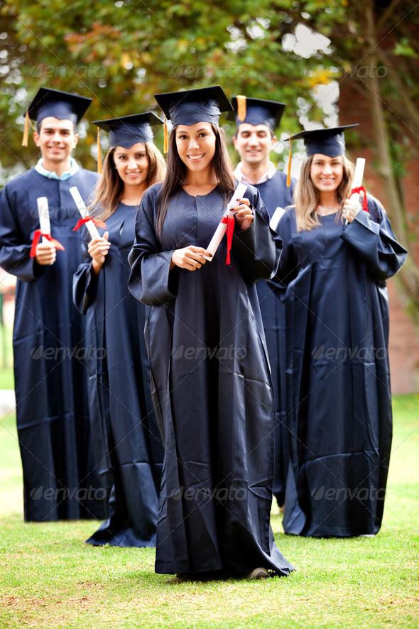 Stock Photo - PhotoDune Graduation group 1678128