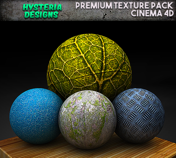 Cinema 4d Material pack premium - 3DOcean Item for Sale