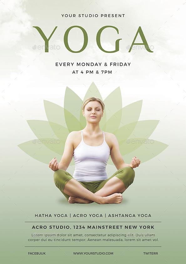 Yoga Flyer by vynetta – Yoga Flyer