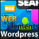 Wordpress Web Elements 2.0 Big Set - GraphicRiver Item for Sale