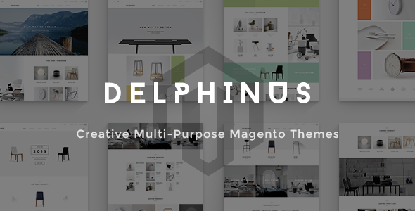 Delphinus - Creative Multi-Purpose Magento Theme