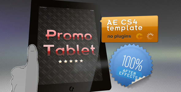 VideoHive Promo Tablet 1678369