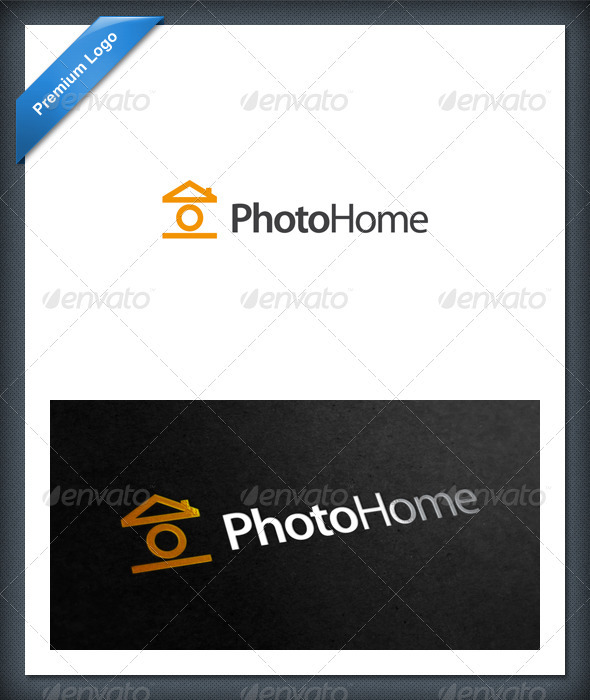Photo Home Logo Template