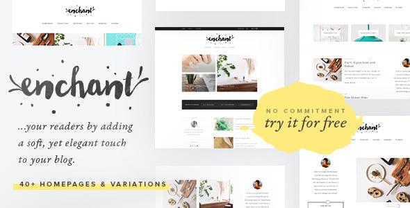 Enchant - Multi-Concept WordPress Blog Theme