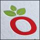 Organic Logo O letter