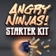 Angry Ninjas Sling Shot Game Starter Kit for iOS - CodeCanyon Item for Sale