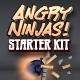 Angry Ninjas Sling Shot Game Starter Kit for iOS - CodeCanyon Item for Sale