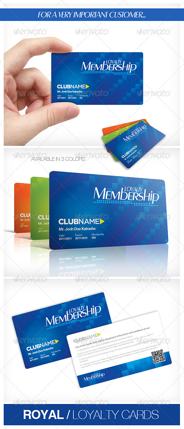 GraphicRiver Royal Loyalty Cards 1679344
