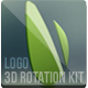Logo 3D Rotation Kit - VideoHive Item for Sale