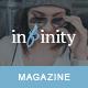 Infinity - Stylish & Modern Magazine HTML Template