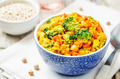 Quinoa broccoli carrot curry