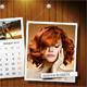 Customizable Calendar 2017 Photo Frame V07